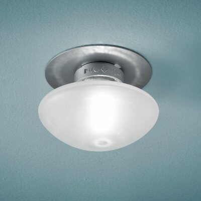 Sillaba Wall or Ceiling Lights Size: 3.5, Finish: Grey