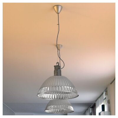 Pudding Suspension Lamp with Reflector