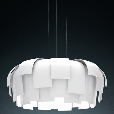 Wig 3-Light Foyer Pendant