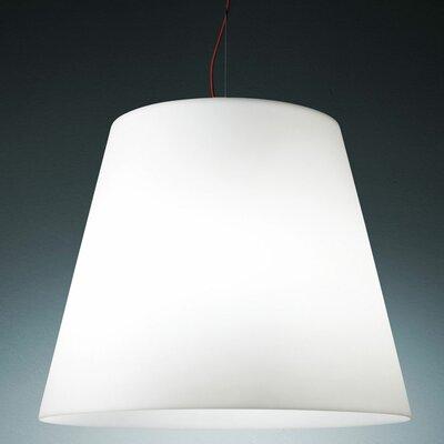Amax Pendant Size: 25.9 H x 32.3 W, Finish: White