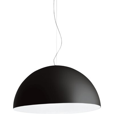 Avico 4-Light Bowl Pendant Size: 157.4 H x 31.1 W x 63 Dia, Finish: Black