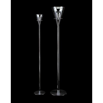 FontanaArte Flute 2 Piece Torchiere Floor Lamp Set U3300