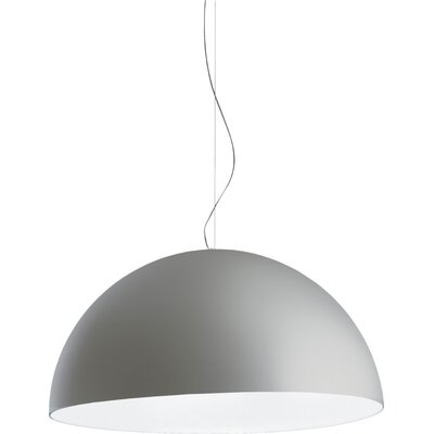 Avico 4-Light Bowl Pendant Size: 157.4 H  x 22.2 W x 47.2 Dia, Finish: Silver