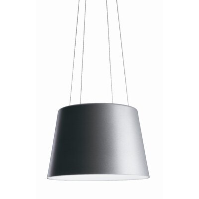 Aurea Hanging Lamp Finish: Aluminum