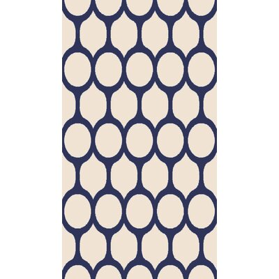 "Rugs America Hudson Navy Trellis Area Rug - Rug Size: Runner 2'3"" x 7'10"" at Sears.com"