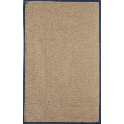 Classic Coir Tan Area Rug Rug Size: 5 x 8