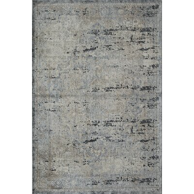 Cambridge Blue/Navy Area Rug Rug Size: 5 x 8