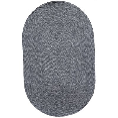 Colony Blue Area Rug Rug Size: Oval 8 x 11