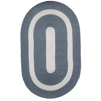 Plymouth Light Blue Area Rug Rug Size: Oval 8 x 11