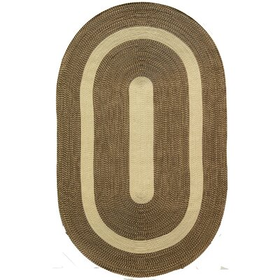 Heritage Brown Area Rug Rug Size: Oval 4 x 6
