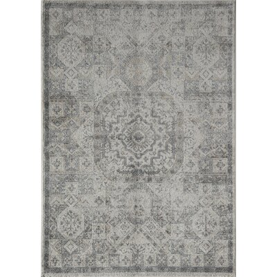 Gisele Piper Beige/Gray Area Rug Rug Size: 2 x 4