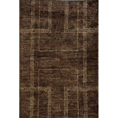 Morocco Chocolate Rug Rug Size: 16 x 23