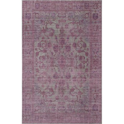Asteria Cascading Lavender Area Rug Rug Size: 5 x 8