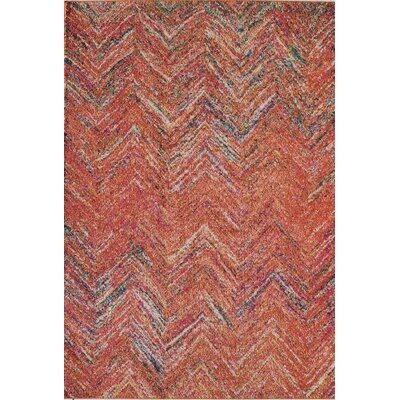 Beverly Rust Area Rug Rug Size: 53 x 76