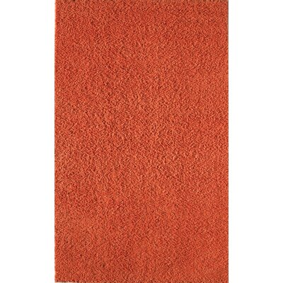 Felicity Orange Area Rug Rug Size: 5 x 8