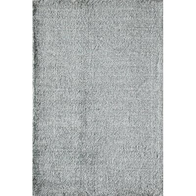 Cozy Enchanting Shag Gray Area Rug Rug Size: 5 x 8