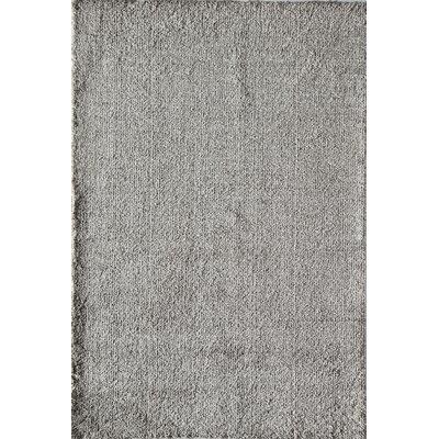 Cozy Sema Shag Gray Area Rug Rug Size: 2 x 4