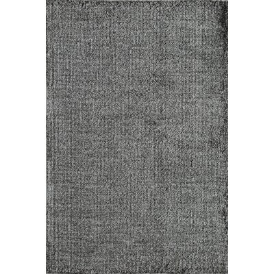 Cozy Black Area Rug Rug Size: Runner 23 x 8