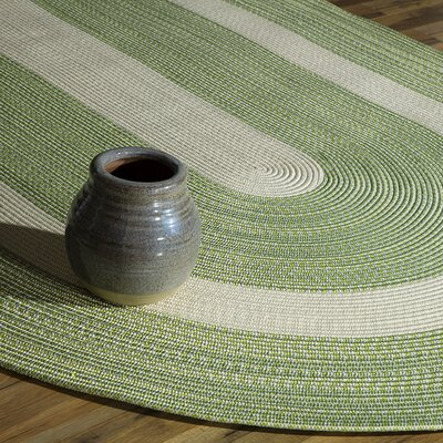 Heritage Mint GreenArea Rug  Rug Size: Oval 4 x 6