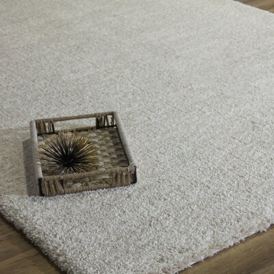 Cozy Honey Shag Gray Area Rug Rug Size: Runner 23 x 8