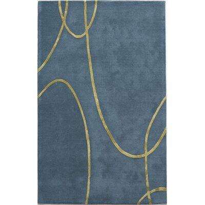 Millennium Electric Blue Rug Rug Size: 8' x 11'
