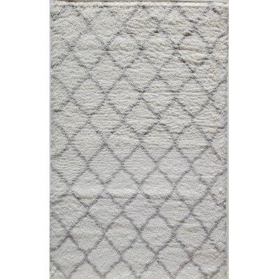 Cardwell Gray Area Rug Rug Size: 5 x 8