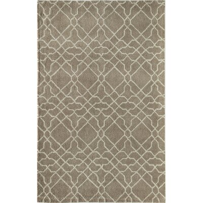 Mckay Geometric Hand-Tufted Wool Beige Area Rug Rug Size: 5 x 8