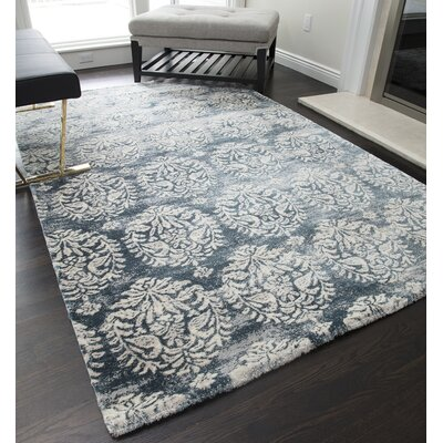 Theodora Gray Area Rug Rug Size: Runner 23 x 8