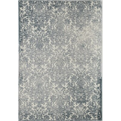 Brigette Gray Area Rug Rug Size: 8 x 10