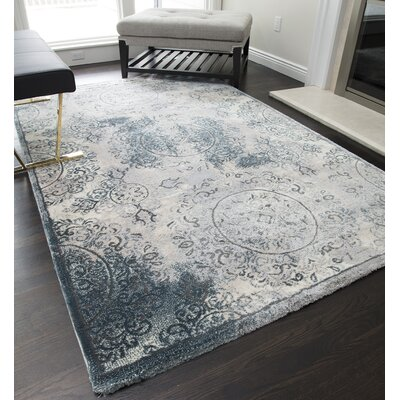 Loyce Gray Area Rug Rug Size: Runner 23 x 8