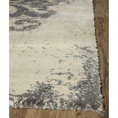 Hilltop Ivory Area Rug Rug Size: 2 x 4