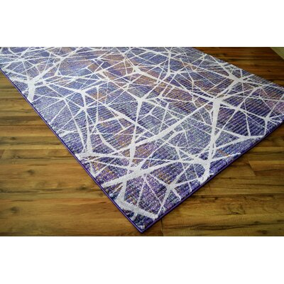 Basil Purple Area Rug