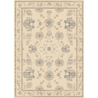 Bartlet Ivory Area Rug Rug Size: Rectangle 5 x 7