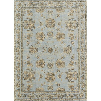 Beatrice Blue Area Rug Rug Size: Rectangle 5 x 7