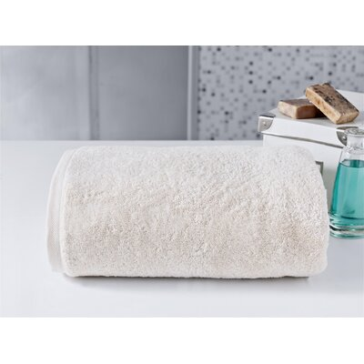 Salbakos 40x80 Bath Towel Color: Ivory