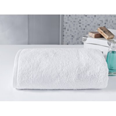Salbakos 40x80 Bath Towel Color: White