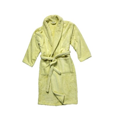 Salbakos Luxury 550 GSM Robe Plush Shawl Collar Terry Bathrobe Size: Medium, Color: Green