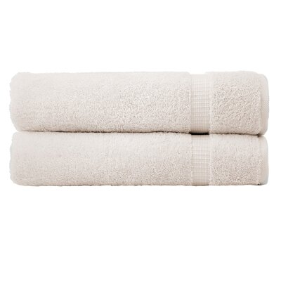 Cambridge Luxury Bath Towel Color: Ivory