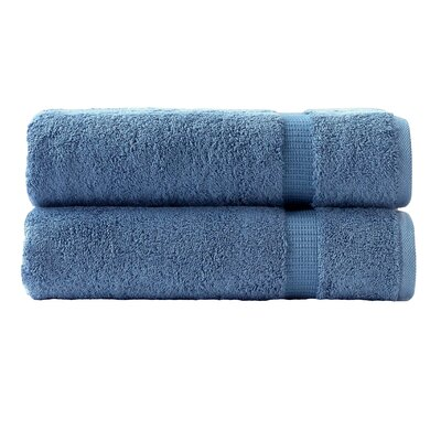 Cambridge Luxury Bath Towel Color: Blue