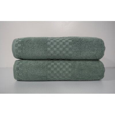 Salbakos Fairfield Bath Sheet Color: Green