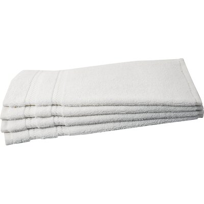 Antalya Wash Cloth Color: White