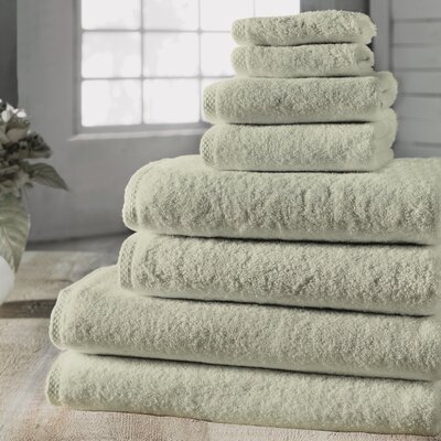 Salbakos Arsenal Giallo Family 8 Piece Towel Set Color: Ivory