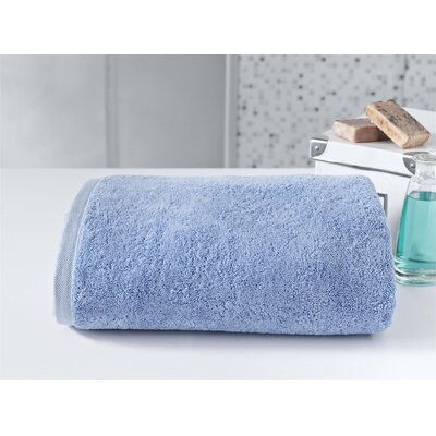 Salbakos Largest Jumbo Terry Bath Sheet Color: Blue
