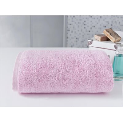 Salbakos Largest Jumbo Terry Bath Sheet Color: Pink
