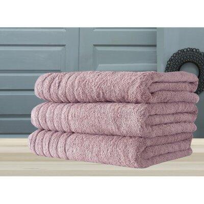 Barnum Bath Towel Color: Rose