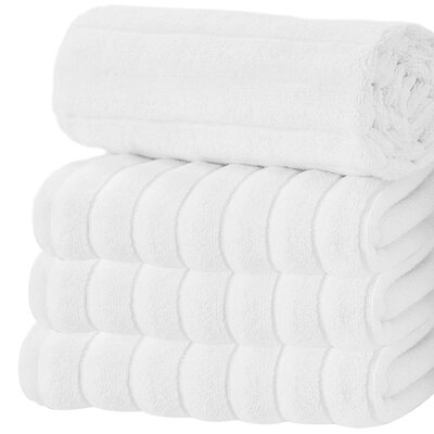 Brampton Wash Cloth Color: White