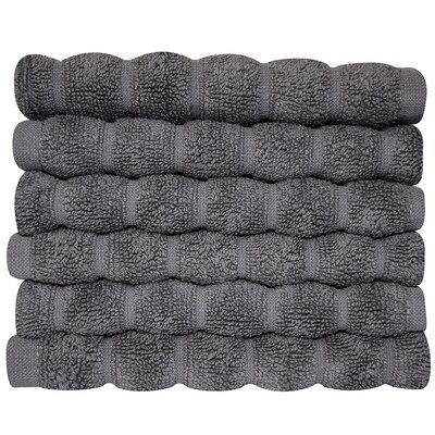 Brampton Wash Cloth Color: Gray