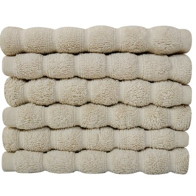 Brampton Wash Cloth Color: Ivory