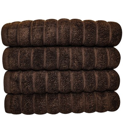 Brampton Hand Towel Color: Chocolate
