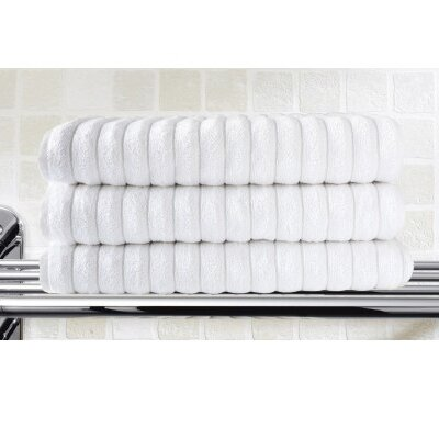 Brampton Bath Sheet Color: White